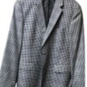 Hugo Boss  Blazer with Patched Sleeves
